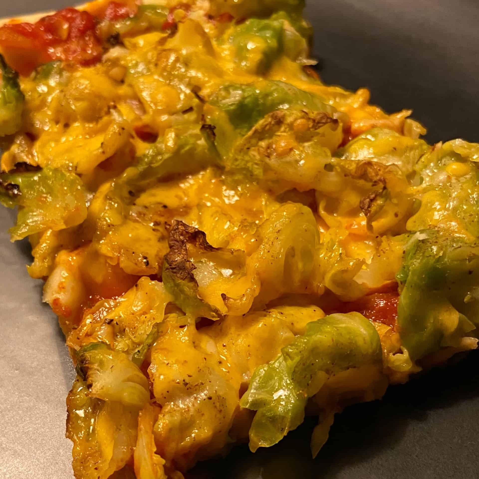 Rosenkohl Pizza